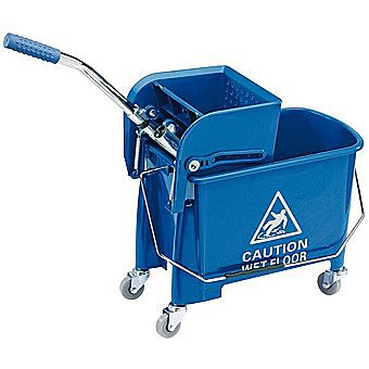 Draper 20 Litre Kentucky Mop Bucket With Wringer 24838
