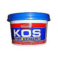 Everbuild Kos Black Fire Cement 2 Kilo For Patching And Repairs