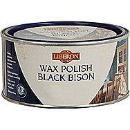 Liberon Black Bison Wax Polish Tudor Oak 500ml