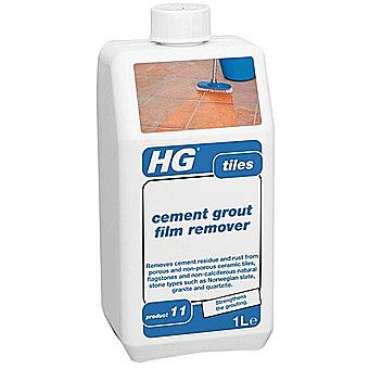 HG Cement And Grout Film Remover For Tiles 1 Litre