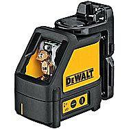 Dewalt DW088K Line Laser Self Levelling Cross Line Laser