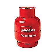 Calor 3.85 Kilo Propane Gas Refill Red Bottle