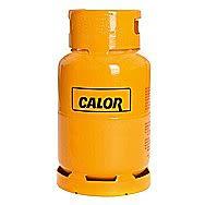 Calor Gas 5 Kilo Butane Gas Bottle Charge Yellow