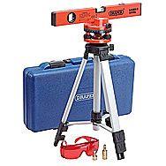 Draper 69580 Laser Level Kit With Tripod & Carry Case Line Laser LLK2