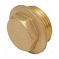 Compression Brass Plug 3/4 Inch Threaded