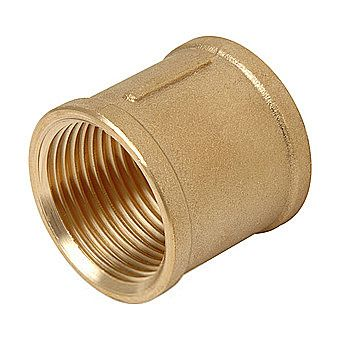 Brass Barrel Straight 3/4 Inch Threaded