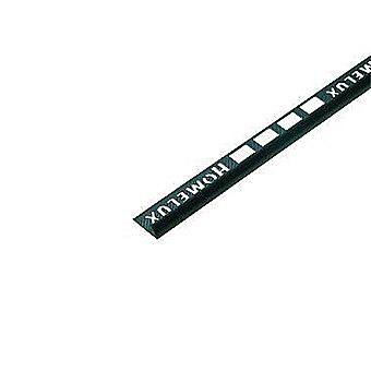 Picture of Homelux PVC Tile Trim 2.5m x 12.5mm Black