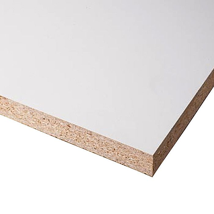 White Melamine Board 2440 X 1220 X 18mm Ray Grahams Diy Store