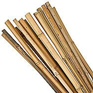4 Foot Bamboo Canes Pack of 10