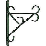Green Hanging Basket Wall Bracket 16 Inch