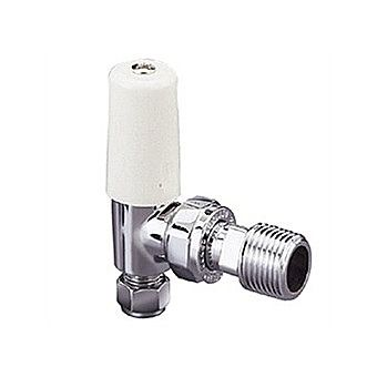Pegler Chrome Radiator Lockshield Valve 15 mm