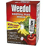 Weedol RootKill Plus Box Of 6 tubes Weedkiller