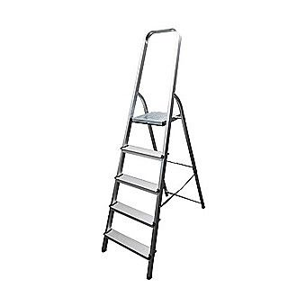 Werner Trade Step Ladder 5 Tread High Handrail Platform