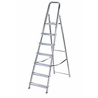 Werner Trade Step Ladder 7 Tread High Handrail Platform
