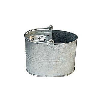Traditional Heavy Duty Oval Galvanised Mop Bucket
