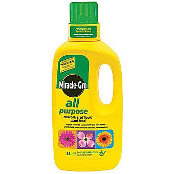 Miracle-Gro Outdoor Liquid Plant Food Concentrate 1 Litre