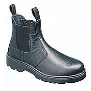 Sterling SS600SM Dealer Safety Boots Black With Steel Midsole