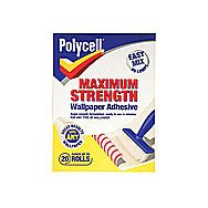Polycell Wallpaper Paste Adhesive 20 Roll Box