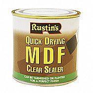 Rustins MDF Quick Drying Sealer 0.25 Litre
