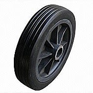 Rubber Replacement Wheel 8 Inch With Half Inch Centre