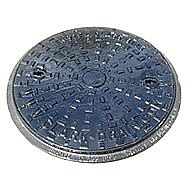 18 Inch Round Cast Iron Manhole Cover With 12 Tonne Rating