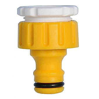 Hozelock 2175 3/4 & 1/2 Inch Outdoor Threaded Tap Connector