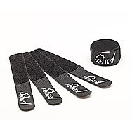 Techzone Black Velcro Cable Tidy Strips 150mm x 20mm