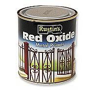 Rustin Red Oxide 0.5 Litre