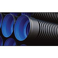Polypipe Industrial Twinwall Perforated Ridgidrain 150mm x 6 Metres