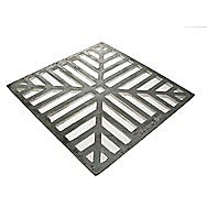 Square Cast Iron Drain Grid 150mm