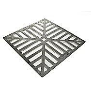 Square Cast Iron Drain Grid 150mm