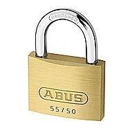 Abus 55/50 50mm Brass Padlock