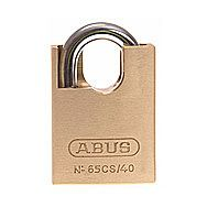 Abus 65/50 50mm 65 Series Brass Padlock - Closed Shackle