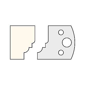 Trend 019 40mm Multi Profile Cutter IT/3301940 Pair