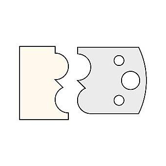 Trend 028 40mm Multi Profile Cutter IT/3302840 Pair