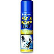 Pest Shield 300ml Fly And Wasp Killer Aerosol