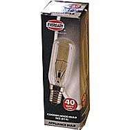 Eveready 40 Watt Small Edison Screw Cooker Hook Bulb