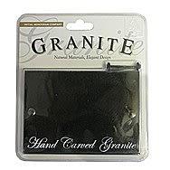 Centurion 14 x 10cm Black Classical Granite Plaque CLBL