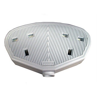 13 Amp Rubber 2 Gang Extension Cord Plug Socket