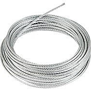 Centurion MC144L 8mm Zinc Plated Wire Rope 10 Metre Length