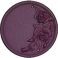 Centurion TC1PK Dusky Pink Effect Rose Plaque