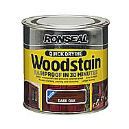 Ronseal Quick Drying Wood Stain Dark Oak 2.5 Litres