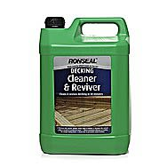 Ronseal Decking Cleaner And Reviver 5 Litres