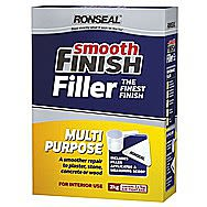 Ronseal Smooth Finish Multi Purpose Filler 2 Kilo