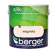 Berger Silk Magnolia Emulsion 10 Litre Tub