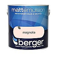 Berger Flat Matt Emulsion 2.5 Litre Tin