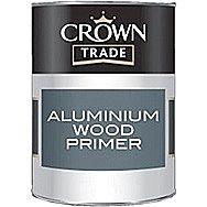Crown Trade Aluminium Wood Primer- Grey 2.5 Litre