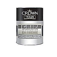 Crown Fast Drying MDF Primer In White 750 ml Tin