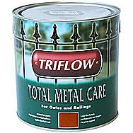 Triflow Total Metal Care Paint For Metal 250ml Brown