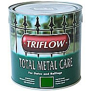 Triflow Total Metal Care Paint For Metal 500ml Green